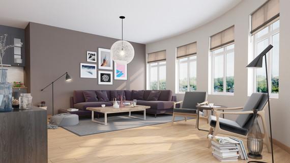 Danum House - Living Room