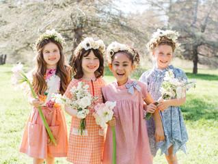 Smile, It's Free // Tiffani Thiessen Spring 2016 Children's Editorial