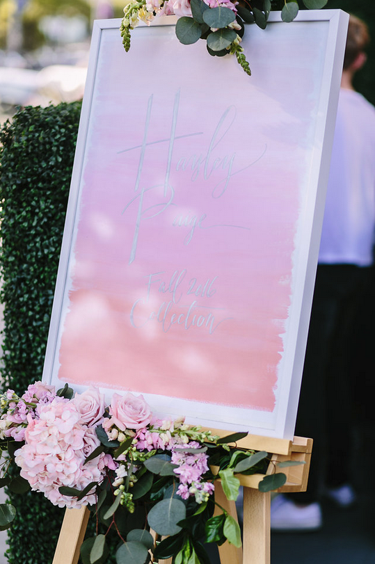 ca47bbb178f5 The event was feminine, whimsical, light-hearted and full of energy. From  the catering, drinks, on-site make-up and hair to the details of the decor,  ...