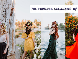 The Princess Collection - Disney-Inspired Flower Crowns for the Modern-Day Princess