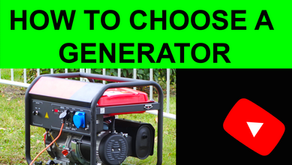 Buying the right generator!