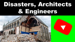 Disasters, engineers and architects