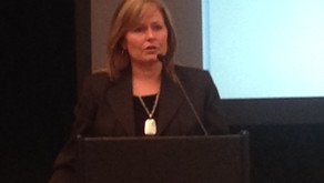 Business and economic disaster recovery presentation at annual EDAC conference