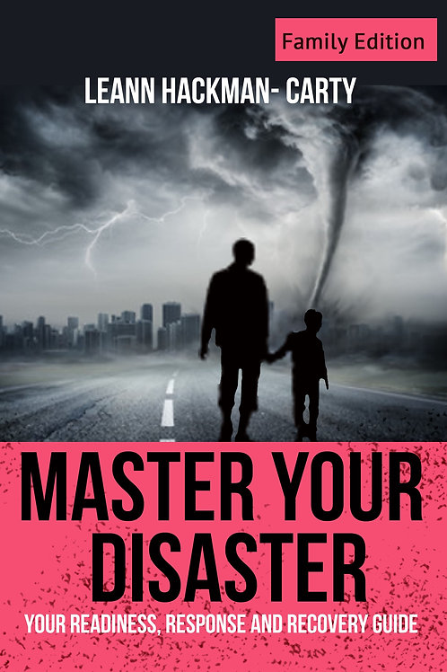 Online Family Disaster Plan Fillable Template