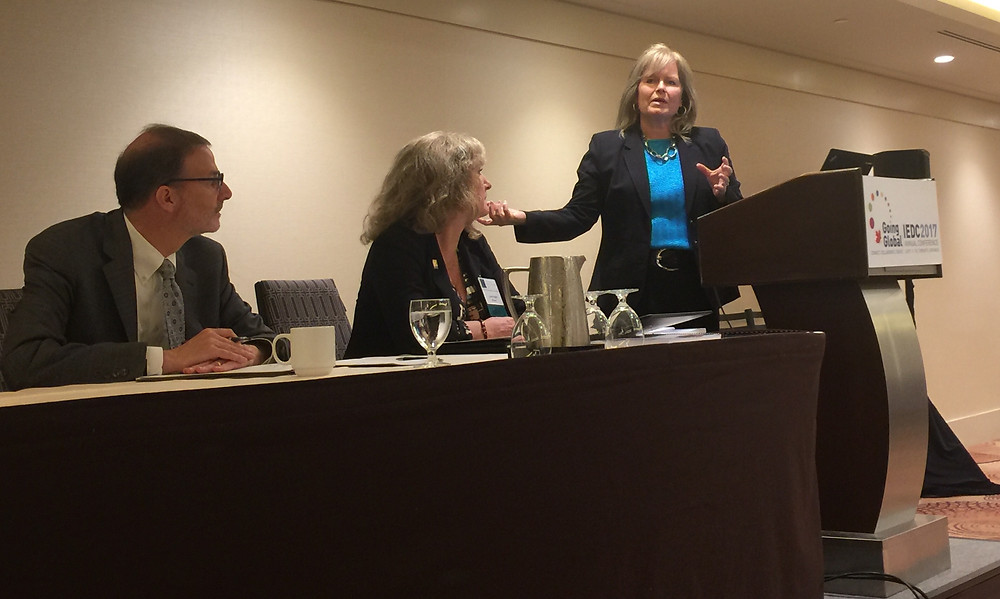 Presenting on a panel at the International Economic Development Council annual conference in Toronto with Lynn Knight (IEDC), Dennis Alvord (U.S. Economic Developement Administration) and John Zakian (Zakian Counsulting)