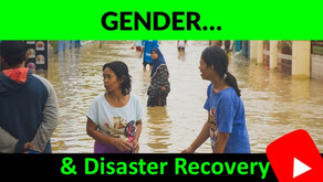 Gender & Disaster Recovery