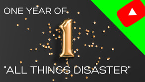All things disaster- One year and counting