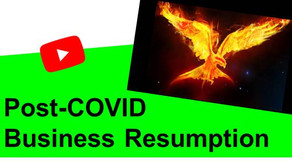 Post COVID Business Resumption Planning