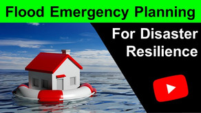 Flood Emergency Planning for Disaster Resilience