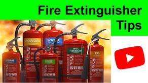 Choosing a Fire Extinguisher