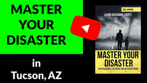 Master Your Disaster at the Tucson Festival of Books!