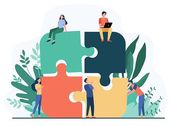 business-team-putting-together-jigsaw-pu