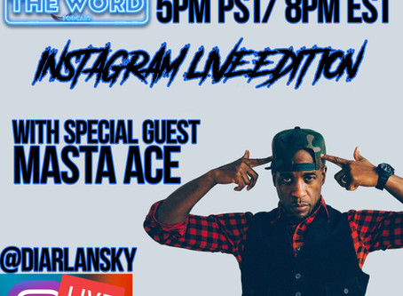 Whutz The Word Podcast Welcomes Guests Masta Ace & Daddy-O