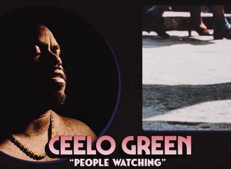 """People Watching"": CeeLo Green's 3rd Single from New Album."