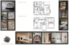 Grondplan ontwerp in 2D moodbord scanbie