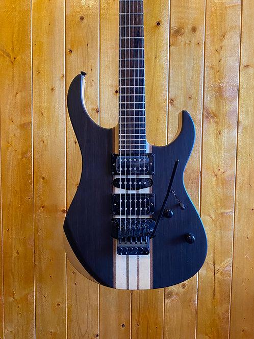AIO Wolf S1 Floyd Rose Electric guitar - Dark Walnut w/Hard Case