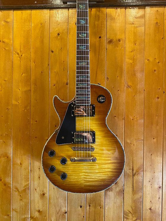 AIO Wolf WLP 750T Left-Handed Electric Guitar - Honey Burst *B-Stock