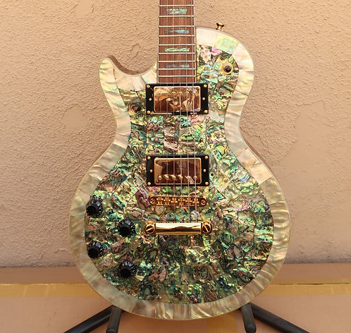 Wolf WLP 750T Special Edition (Left-Handed) - Abalone w/Gator Hard Case