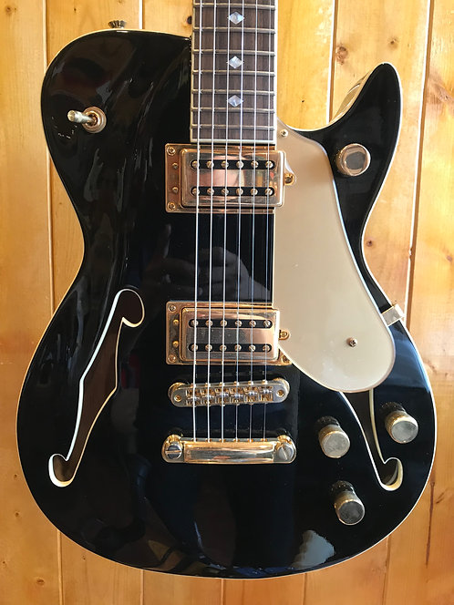 Carparelli Classico SH1 Electric Guitars - Black *showroom condition