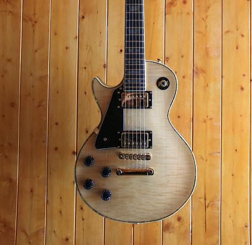 AIO SC77 *Left-Handed Electric Guitar - Natural w/Gator Hard Case