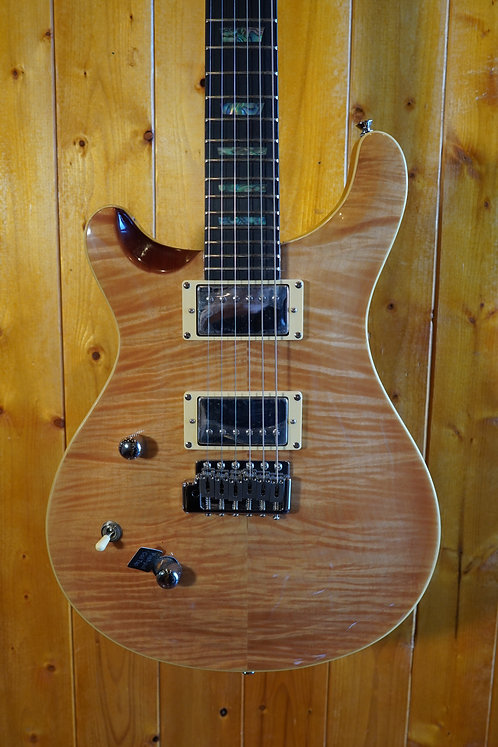 AIO W400 TRE *Left-Handed Electric Guitar - Natural w/Gator Hard Case