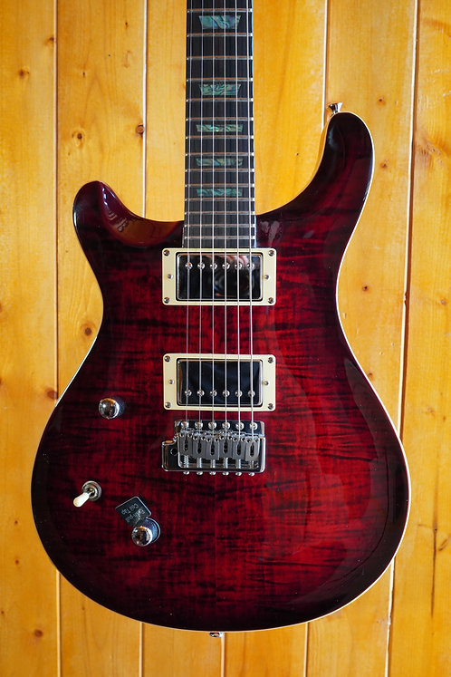 AIO W400 TRE *Left-Handed Electric Guitar - Red Burst w/Gator Hard Case