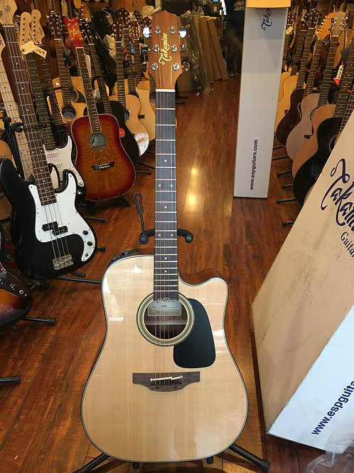 Takamine P2DC Natural Satin Acoustic Electric Guitar