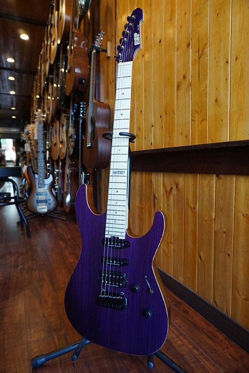 ESP ESP M-III 2 PT Electric Guitar - See-Thru Purple