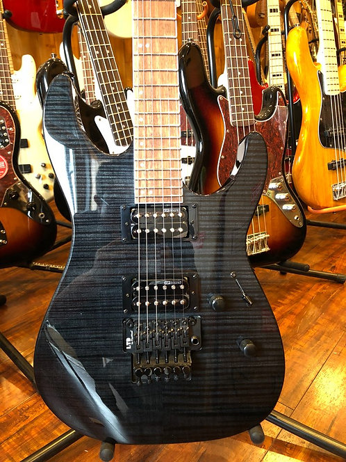 ESP LTD M-200FM Electric Guitar See-Thru Black