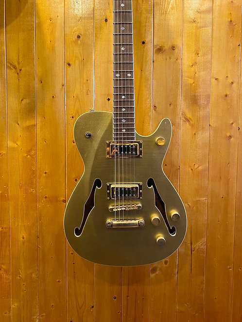 Carparelli Classico SH2(Semi-Hollow) - Sparkle Gold  *Showroom Cond