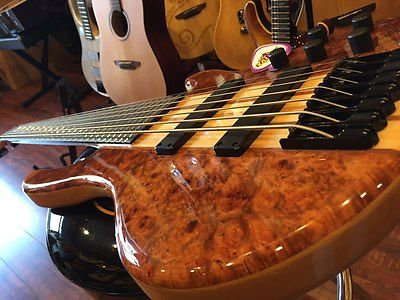 AIO Wolf NAMM 2016 SE Quilted Bubinga 7 String