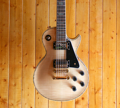 Wolf WLP 750T Electric Guitar - Natural w/Hard Case
