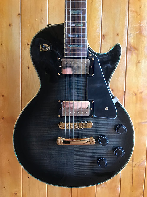 AIO Wolf WLP 750T Electric Guitar - Black Burst (no case)
