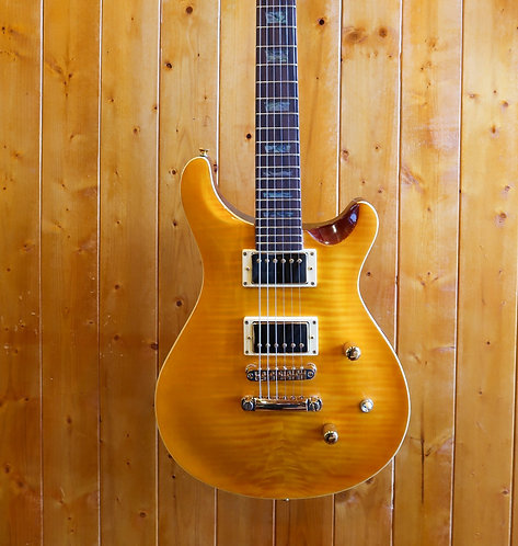 AIO Wolf W400 Electric Guitar - Amber (no case)