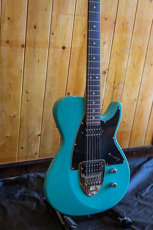 Carparelli Classico S Electric Guitars - Seaform Metallic *showroom condition