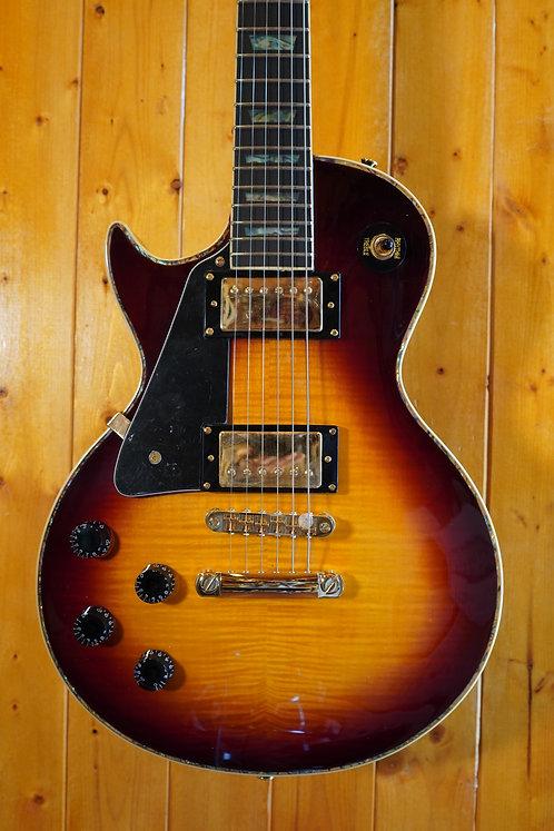 AIO SC77 *Left-Handed Electric Guitar - Tobacco Sunburst w/SKB-SC56 Case