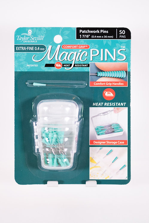 Magic Pins Patchwork Pins | Extra Fine | 1 7/16"