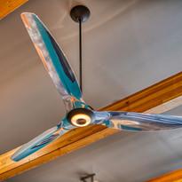 Aerospace Inspired Ceiling Fan
