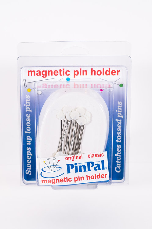 PINPal - Magnetic Pin Holder - White with pins