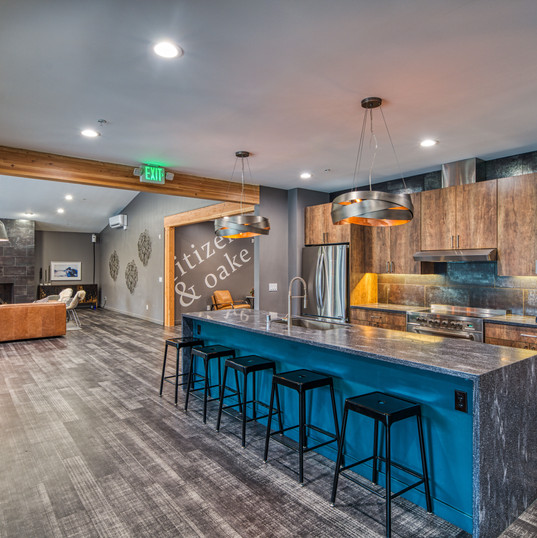 Apartment Clubhouse Kitchen