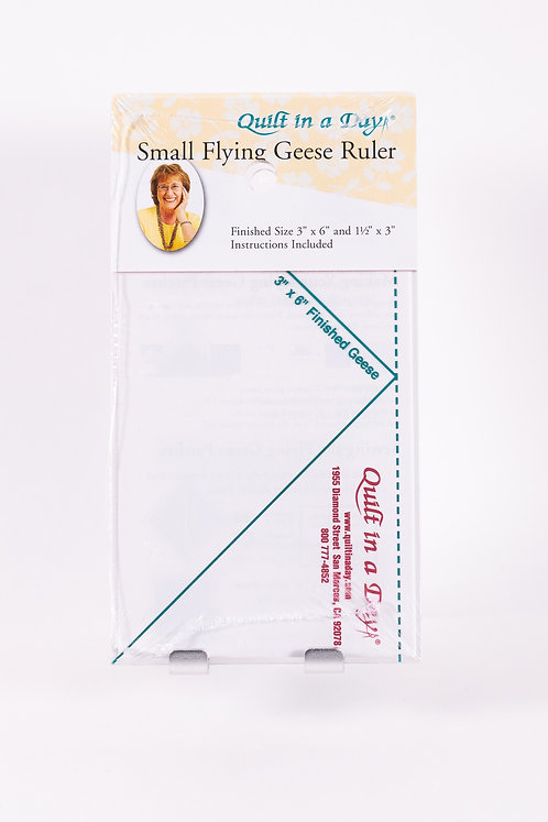 """Small Flying Geese Ruler 