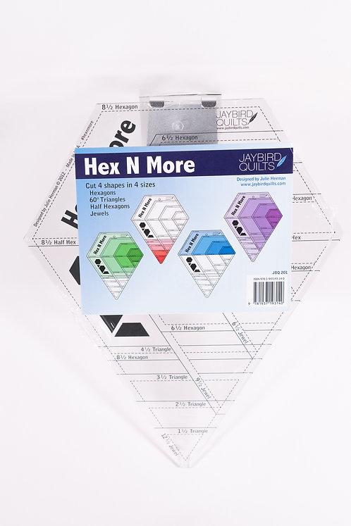 Hex N More Ruler | Jaybird Quilts | Creative Grids