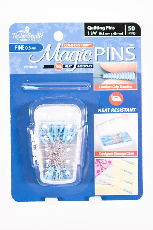 MAGIC PINS | FINE 0.5 mm | Quilting Pins 1-3/4 in | 50 pins