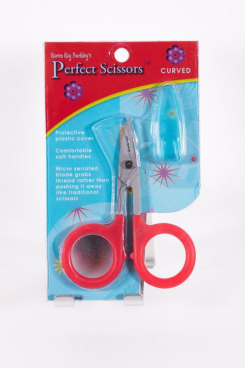 "3.75"" Perfect Curved Scissors Karen Kay Buckley #KKBPSC"