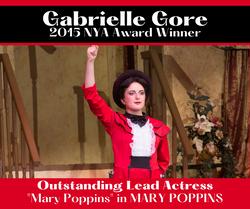 Gabrielle 2015 Mary Poppins