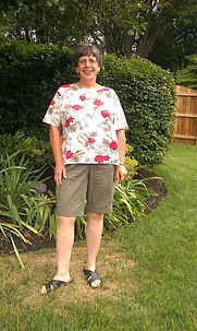 Diane's After Photo. Lost 109 pounds with her personal trainer Tom Lengyel