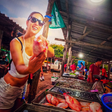 Thajské trhy