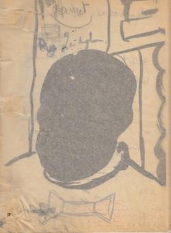 Zintuigloos (met kalkpapier)