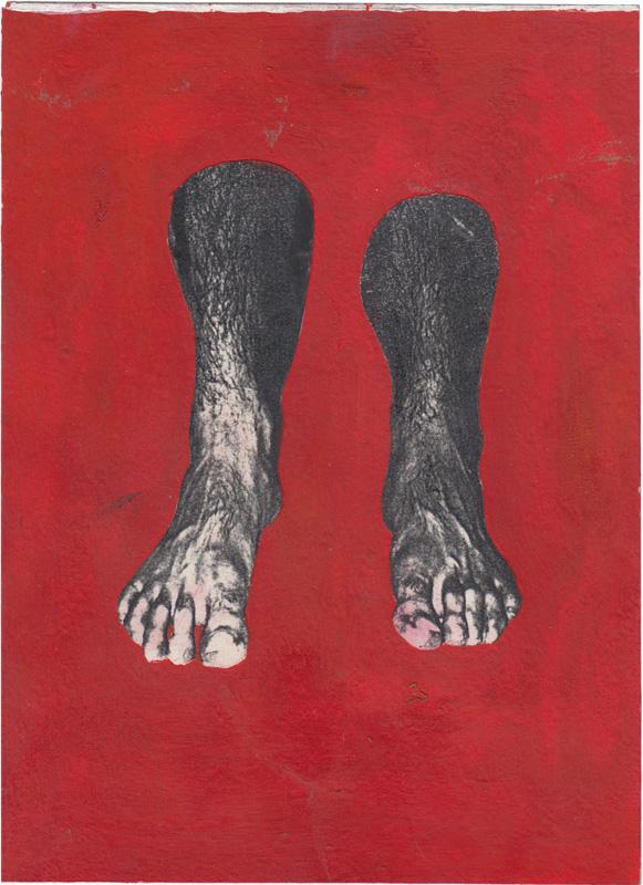 Zelfportret als een paar voeten