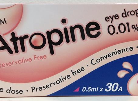 0.01% раствор атропина в лечении близорукости. Формы выпуска. Купить